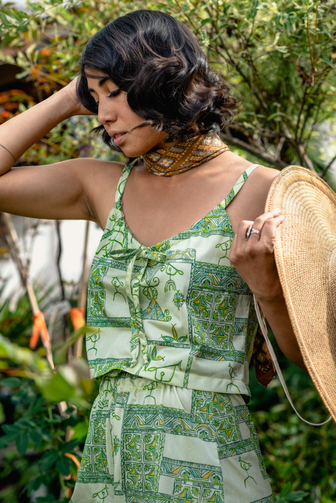 1960s Custom Hawai'ian Shorts Set